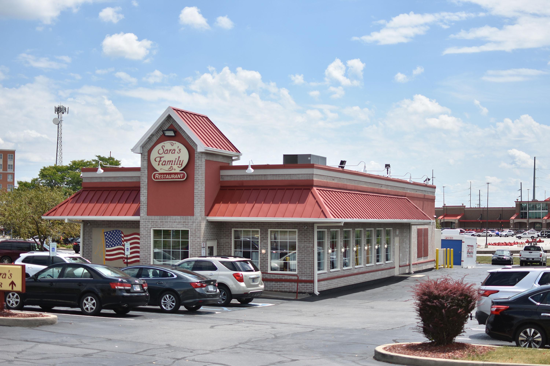Sara's Family Restaurant Exterior